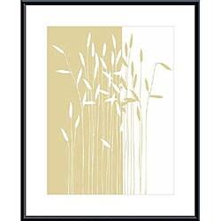 Takashi Sakai 'Reeds I' Metal Framed Art Print