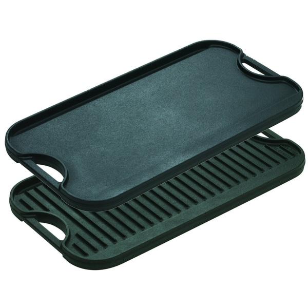 Lodge Logic LPGI3 Iron Reversible Pro Grill/Griddle 5997828