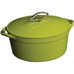 Lodge 'L Series' Apple Green Enamel 4-quart Dutch Oven