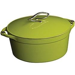 Lodge 'L Series' Apple Green Enamel 4-quart Dutch Oven