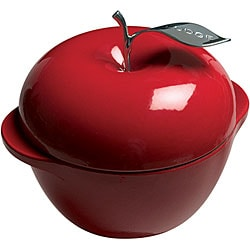 Lodge Patriot Red Apple 3-quart Cast Iron Cookware