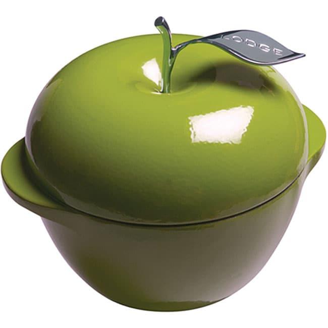 Lodge Green Apple Enamel 3-quart Cast Iron Cookware