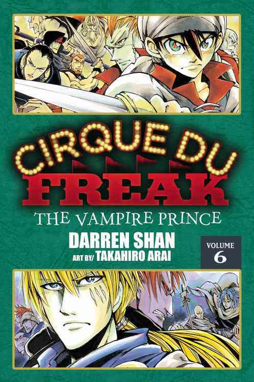 Cirque Du Freak 6: The Vampire Prince (Paperback)