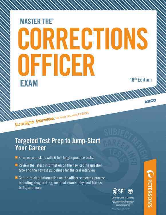Master the Corrections Officer Exam (Paperback)
