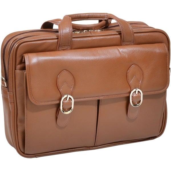 McKleinUSA Kenwood S Series 15564 Double Compartment Laptop Case