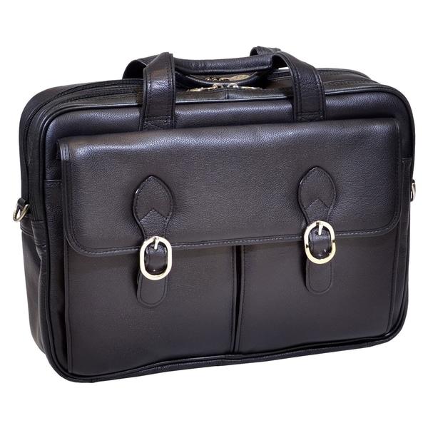McKleinUSA Kenwood S Series 15565 Double Compartment Laptop Case