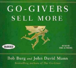 Go-Givers Sell More (CD-Audio)