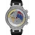 Joe Rodeo Men's Master World Map Diamond Watch