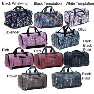 CalPak Hollywood Plaid 22 Inch Carry On Duffel Bag