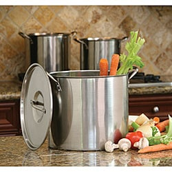 Stainless Stockpots (Set of 3)