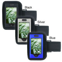 Black and Silver 230397 Sport iPhone Armband