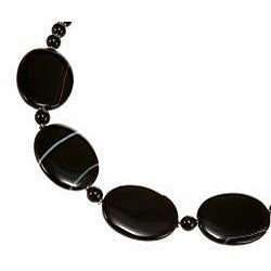 Handmade Silver Agate Necklace (Thailand)
