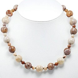 Jasper Silver Necklace (Thailand)