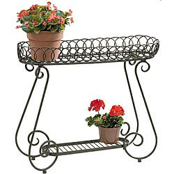 Deer Park Ironworks Oval Ring Planter