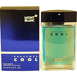 Mont Blanc Presence Cool Men's 2.5-ounce Eau de Toilette Spray
