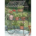 Deer Park Ironworks Large Flower Cart