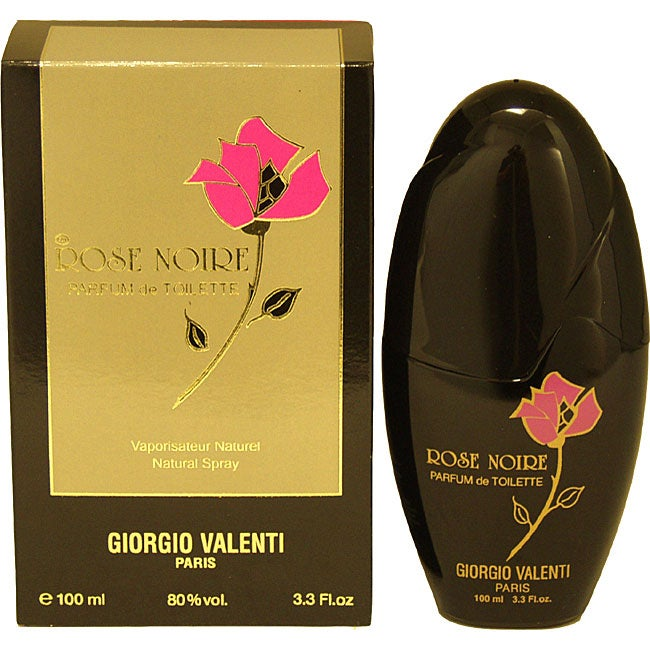 Giorgio Valenti Rose Noire Women's 3.3-ounce Parfum de Toilette Spray