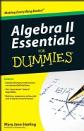 Algebra II Essentials for Dummies (Paperback)