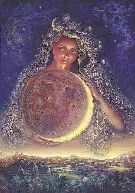 Moon Goddess Journal (Notebook / blank book)