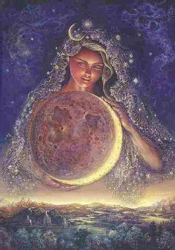 Moon Goddess Journal (Notebook / blank book)