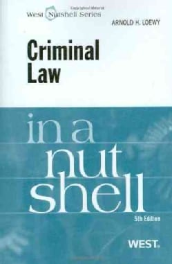 Loewy's Criminal Law in a Nutshell (Paperback)