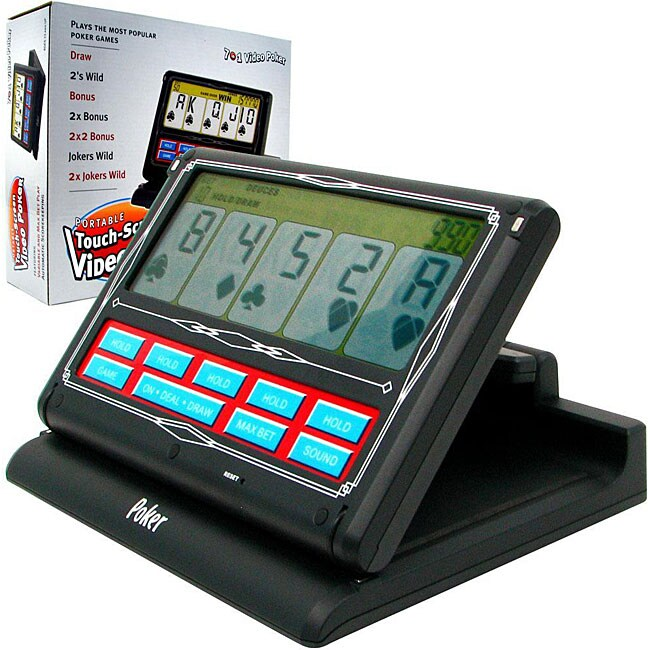 Portable Laptop Video Touch Screen Poker
