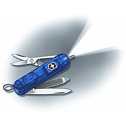 Victorinox Swiss Army Signature Lite 7-tool Blue Pocket Knife