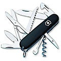 Victorinox Swiss Army Huntsman 16-tool Black Pocket Knife