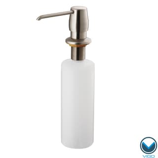 Vigo Stainless Steel Kitchen Soap Dispenser