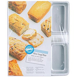 Wilton 6-cavity Mini Loaf Pan