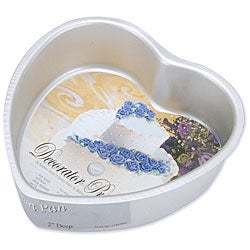 Wilton Decorator Preferred 6x2-inch Heart Cake Pan