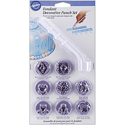 Fondant Decorative Punch Kit