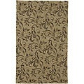 Hand-tufted Passion Gold Wool Rug (9' x 13')