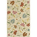 Hand-tufted Spring Gardens New Zealand Wool Rug (5' x 8')