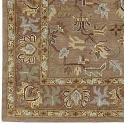 Hand-tufted Tapestry New Zealand Wool Rug (5' x 8')