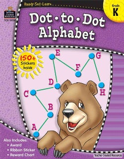 Dot to Dot Alphabet, Kindergarten (Paperback)