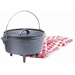 Texsport Cast Iron 20-quart Dutch Oven