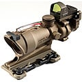'Dark Earth Brown' Trijicon 4x32mm ACOG and Docter Optic Sight