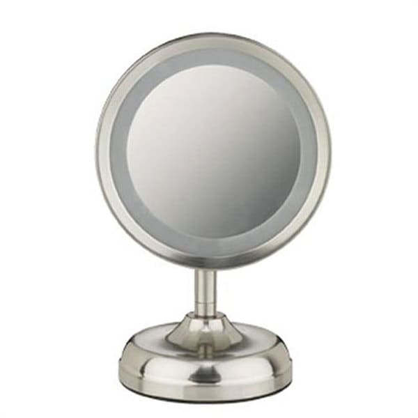 Conair BE93 Double-Sided 1x-5x Round Lighted Mirror