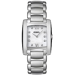 Ebel Women's Brasilia Mother of Pearl Diamond Watch