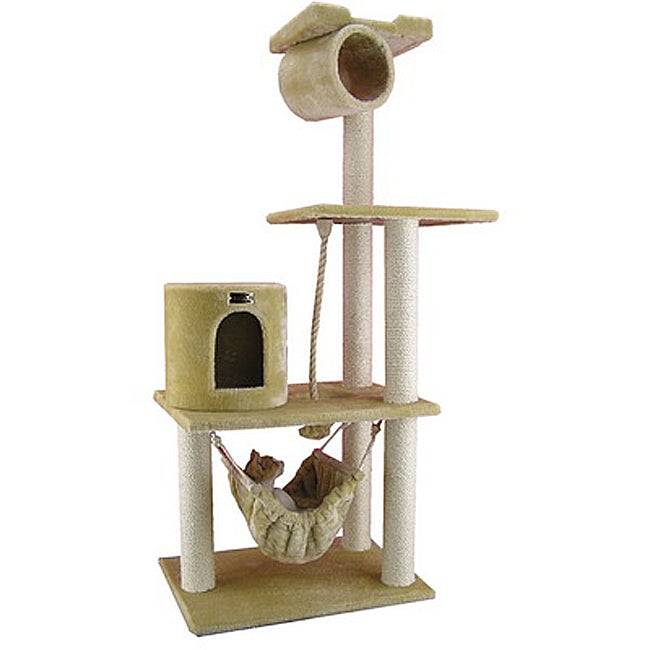 Armarkat Multiple Level Cat Tree Pet Furniture Condo Scratcher