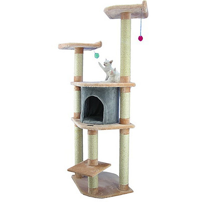 Armarkat Cat Tree Pet Furniture Condo Scratcher