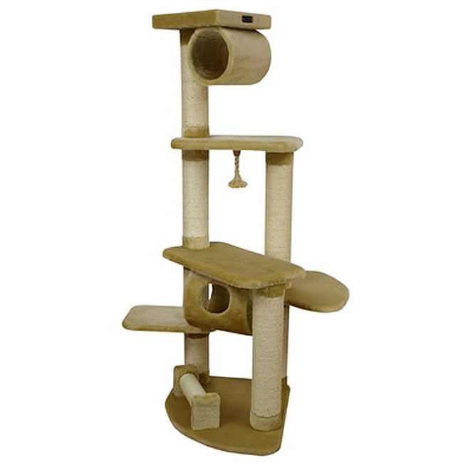 Armarkat Cat Jungle Gym Wooden Pet Furniture Condo Scratcher 12374060 Shopping