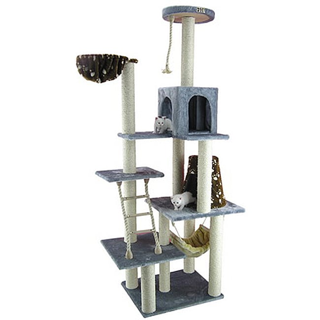 Stylish Armarkat Cat Tree Pet Furniture Condo Scratcher