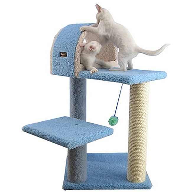 Sky Blue Armarkat Cat Tree Pet Furniture Condo Scratcher