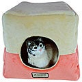 Armarkat 16-inch Multiple Use Orange and Beige Pet Bed