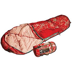 Grizzly Kid's Flower 35-degree Mummy Bag