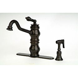 Bracciano Aquassence Series by Giagni Kitchen Faucet with Side Spray