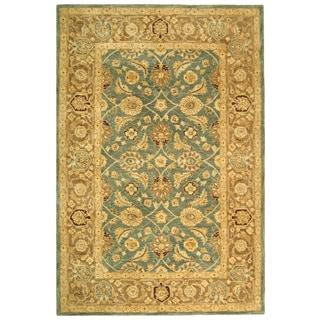 Safavieh Handmade Legacy Blue/ Brown Wool Rug (8' x 10')