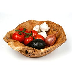 Enrico Rootworks Medium Flat Cut Root Bowl (China)